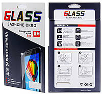 Защитное стекло  для SAMSUNG  G610F Galaxy J7 Prime (0.15 мм, 3D Fiber чёрное)