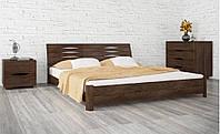 Кровать Marita S - Марита S (деревянная Бук, двуспальная, полуторная) ТМ Олимп