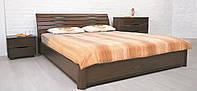 Кровать Marita N - Марита N (деревянная Бук, полуторная, двуспальная) ТМ Олимп