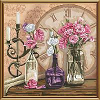Время цветов. Набор для вышивания нитками