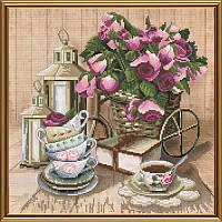 Ароматный чай. Набор для вышивания нитками