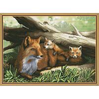 Рыжее семейство. Набор для вышивания нитками