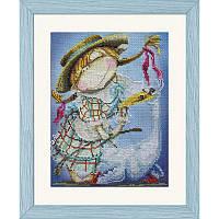 Пастушка. Набор для вышивания нитками