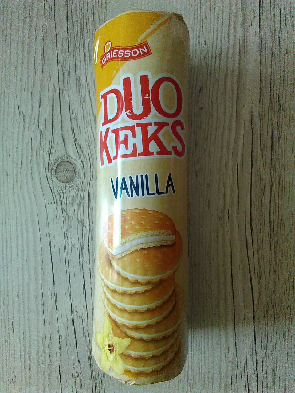 Бисквитное печенье Griesson Duo Keks Vanilla, 500г