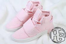 Женские кроссовки Adidas Tubular Invader Strap Pink B39364, фото 3