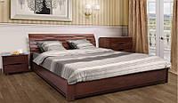 Кровать Marita N - Марита N с подъемной рамой(деревянная Бук) ТМ Олимп
