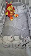 """Постельное белье для детей ТМ """"Ведмедик"""", фото 1"""