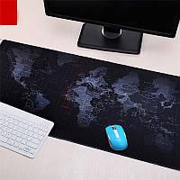 Большой коврик для мышки: Карта мира!, фото 1