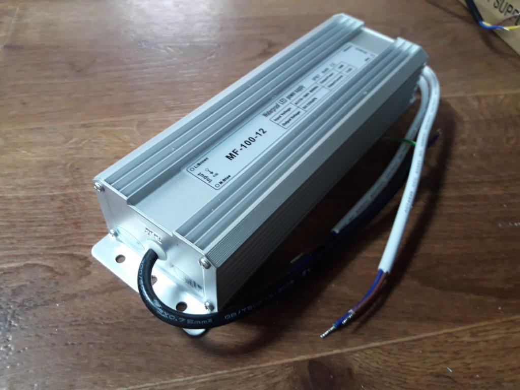 Источник питания герметичный 12V 8,3A MF-100-12