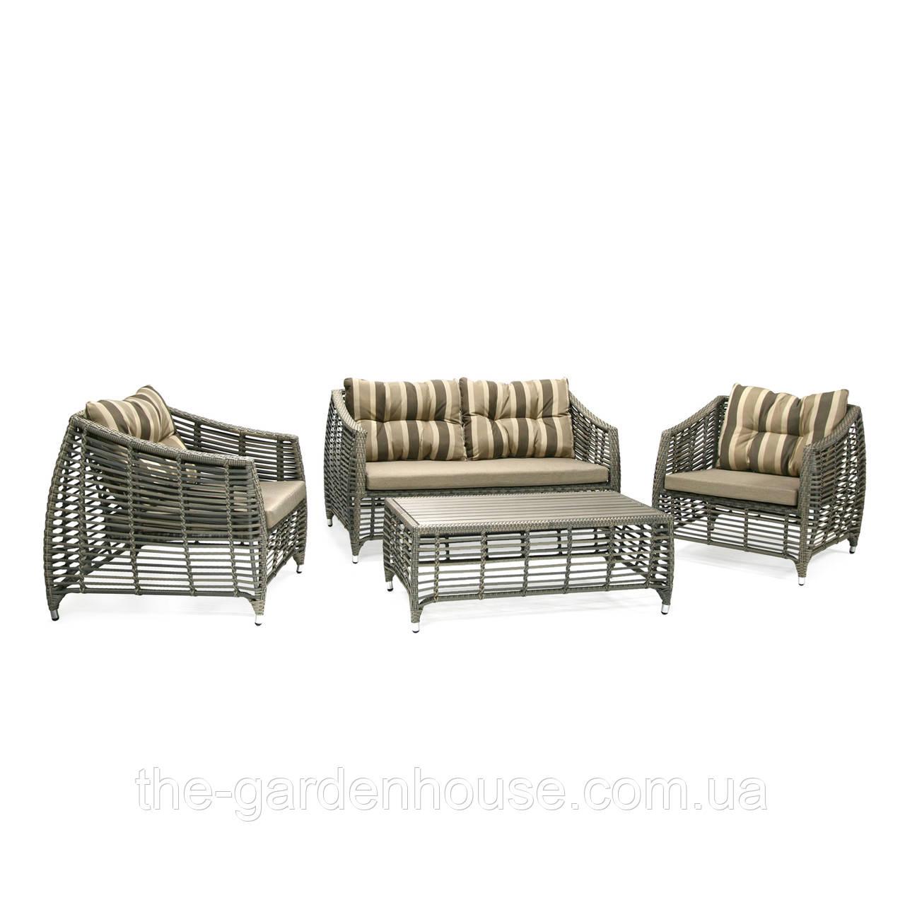 Садовая мебель для отдыха Brindisi из искусственного ротанга