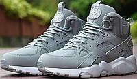 Купить зимние кроссовки мужские Nike Air Huarache Winter Grey в магазине tehnolyuks.prom.ua 099-4196944