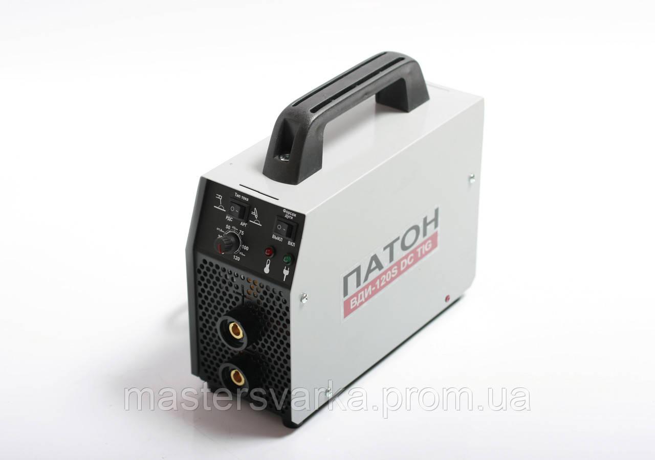 Инверторный выпрямитель ПАТОН ВДИ-120S DC MMA/TIG