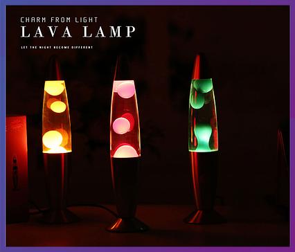 """Ночник, детский светильник  """"Лава Лампа"""" высота – 41 см., фото 2"""