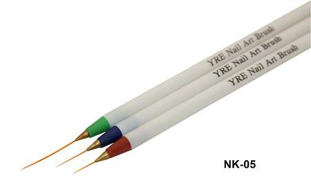 Набор кистей для росписи YRE лайнер (NK-05) 3шт