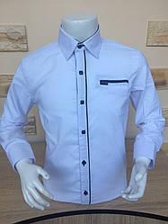 Детская рубашка X-Port белая 7-12