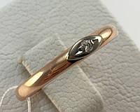 Кольцо с бриллиантом золотое 585 проба,СССР