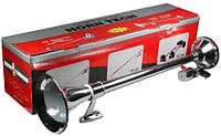 Сигнал 1-дудка пневмо CA-13640 24V металл хром