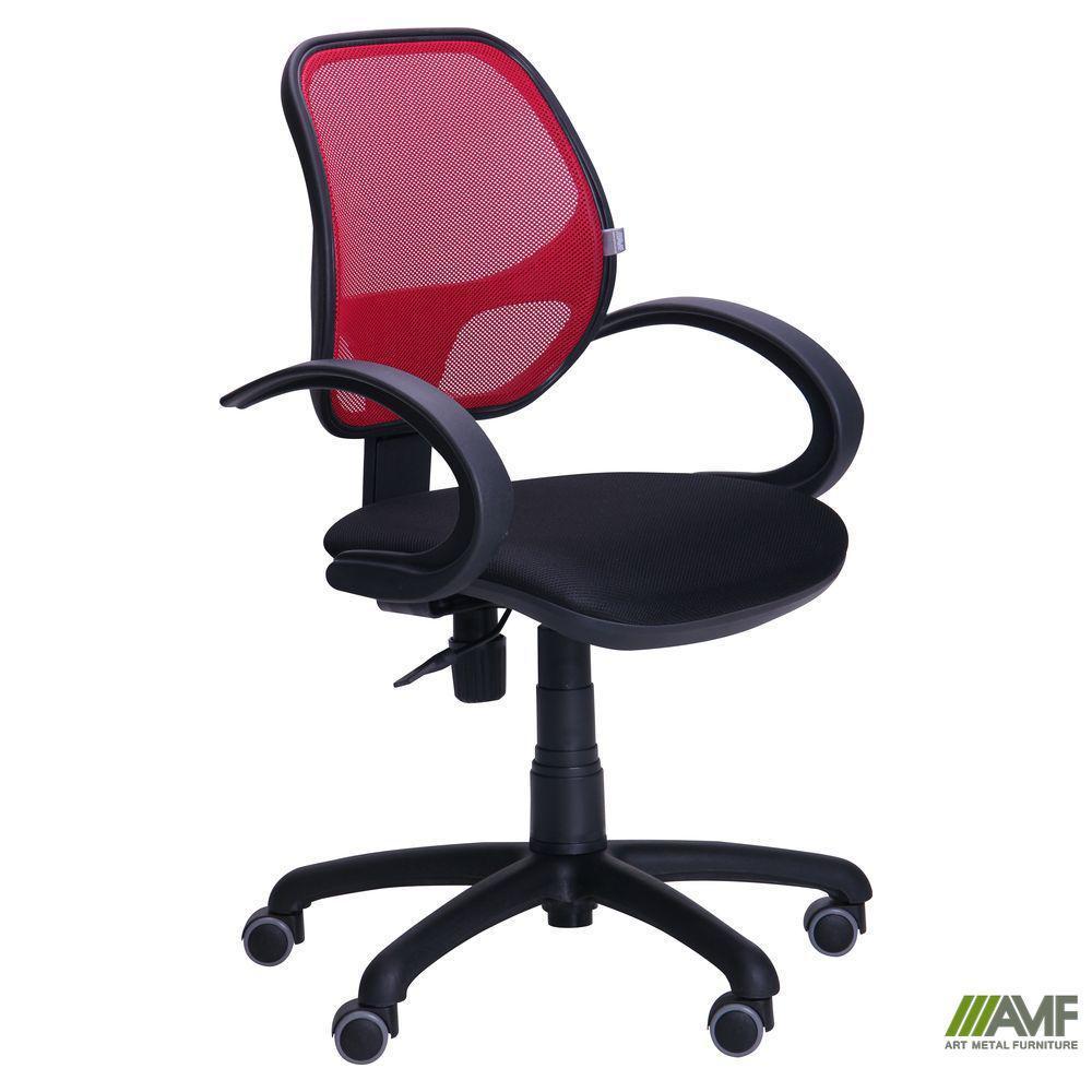 Кресло Байт/АМФ-5 сиденье Неаполь N-20/спинка Сетка красная