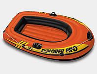 Надувная лодка INTEX 58355 EXPLORER 100 одноместная 160*94*29 см