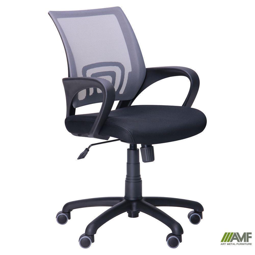 Крісло Веб сидіння Сітка чорна/спинка Сітка сіра