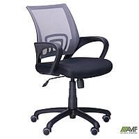Кресло Веб сиденье Сетка черная/спинка Сетка серая, фото 1