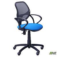 Кресло Байт/АМФ-4 сиденье Сетка черная/спинка Сетка серая, фото 1