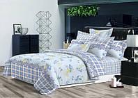Двуспальный комплект постельного белья евро 200*220 хлопок  (6595) TM KRISPOL Украина