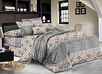 Двуспальный комплект постельного белья евро 200*220 хлопок  (6920) TM KRISPOL Украина