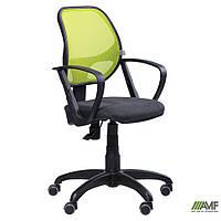 Кресло Бит/АМФ-7 сиденье Неаполь N-20/спинка Сетка черная, фото 1