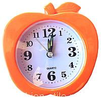 Часы настольные с будильником (∅-15см)