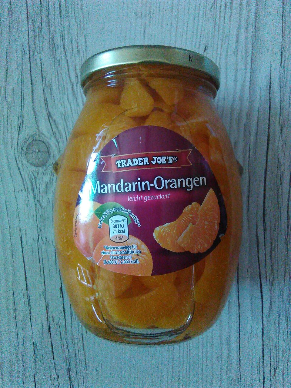 Консервированные мандарины и апельсины в сиропе Trader Joe's, 580 гр