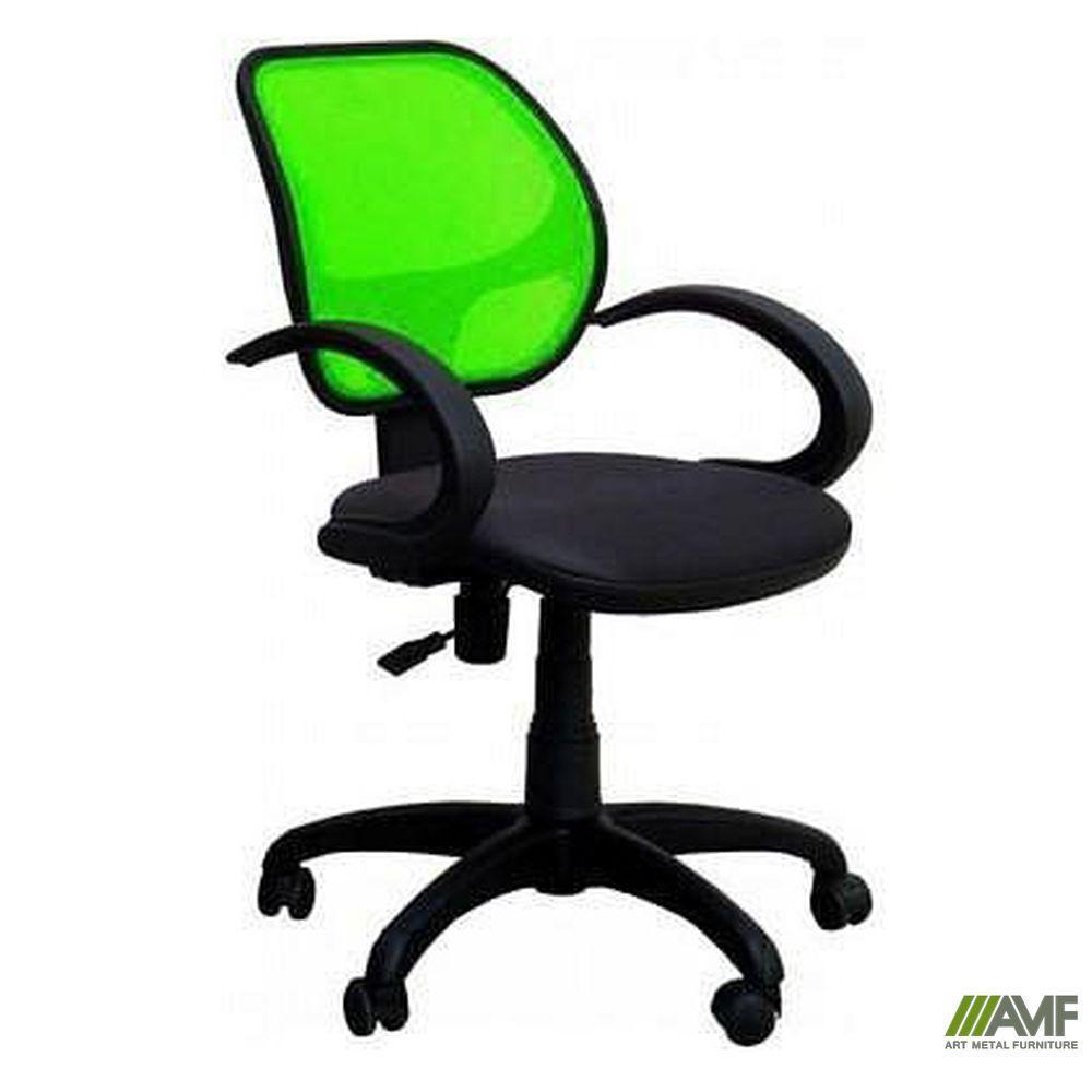 Кресло Байт/АМФ-5 сиденье Сидней-17/спинка Сетка салатовая