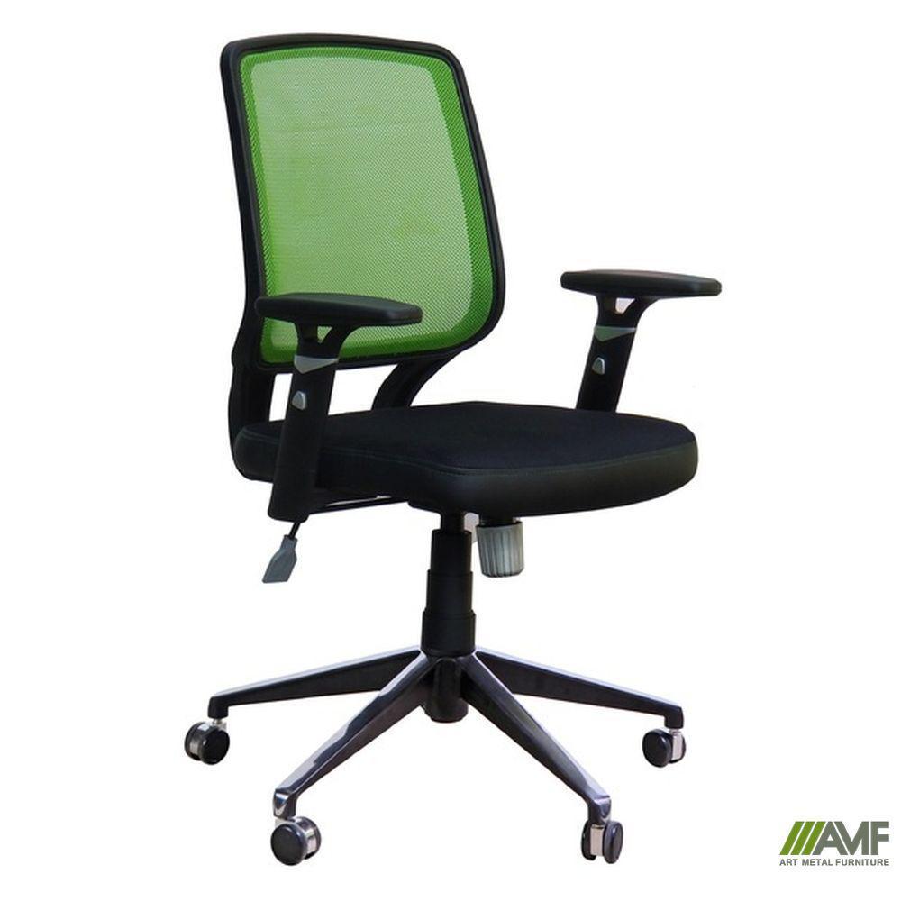 Кресло Онлайн Алюм сиденье Неаполь N-54/спинка Сетка салатовая