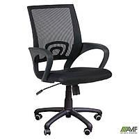 Кресло Веб сиденье Сетка синяя/спинка Сетка черная, фото 1