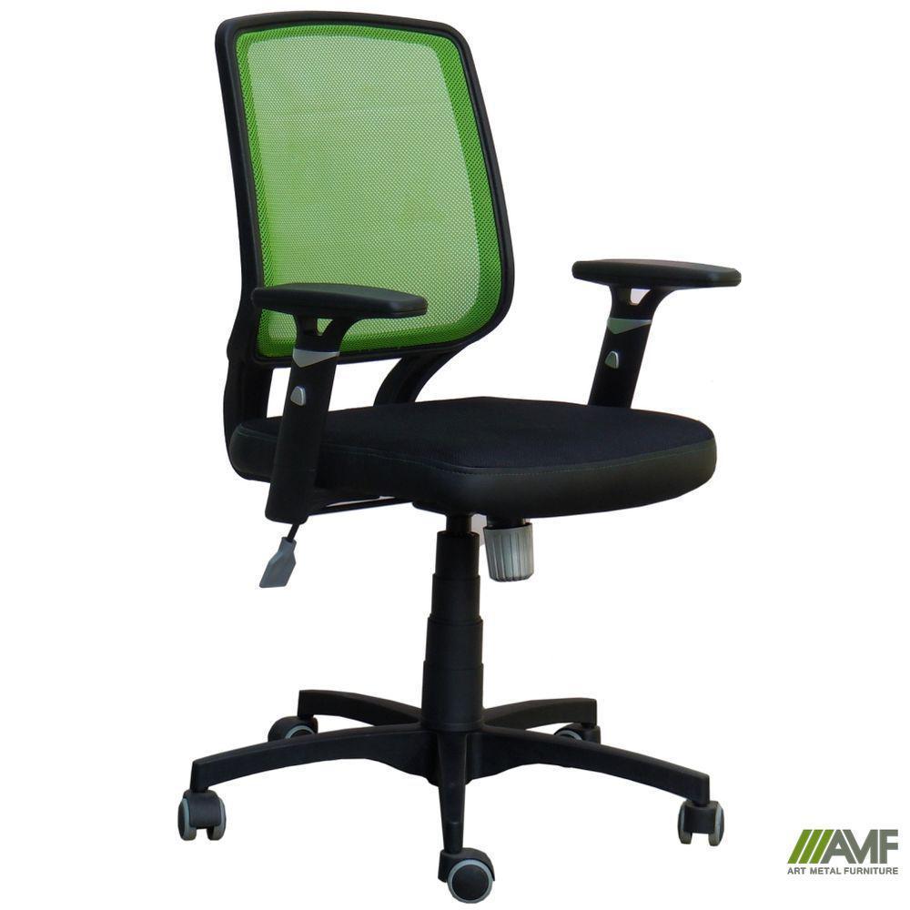 Крісло Онлайн сидіння Неаполь N-35/спинка Сітка салатова