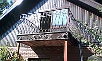 Перила для балконов металлические