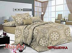 Двуспальный набор постельного белья 180*220 из Сатина №141A KRISPOL™
