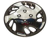 Колпаки на колеса R13 диски для дисков Тайвань R13 80-513C/C хром/черн колпак