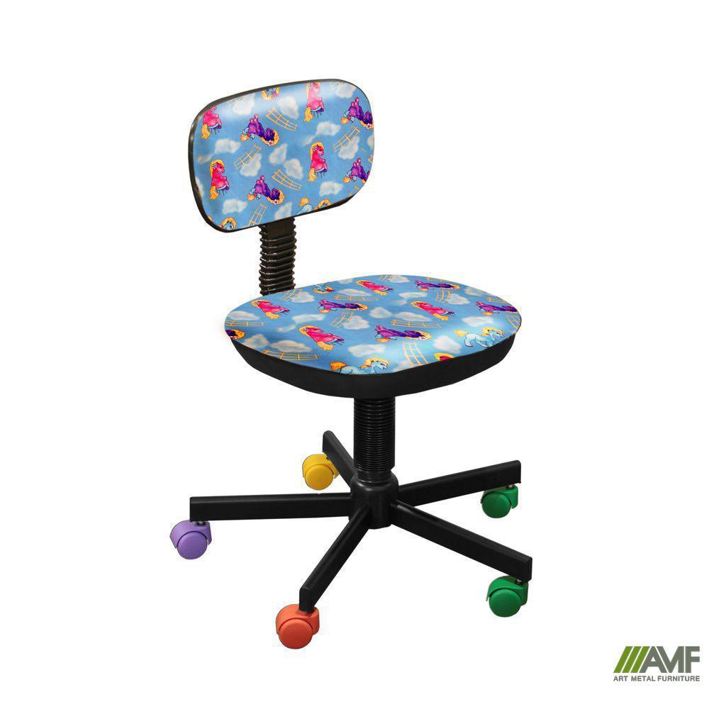 Кресло детское Бамбо Пони - голубой