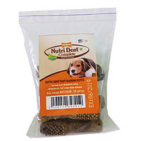 Nylabone Nutri Dent Filet Mignon Small НИЛАБОН жевательное лакомство для чистки зубов собак до 7 кг, вкус филе миньон
