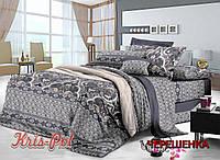 Евро макси набор постельного белья 200*220 из Сатина №1415A KRISPOL™