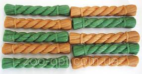 Лакомства для собак Жевательная щетка MIX XS (зеленый чай, курица) 30 шт в упаковке