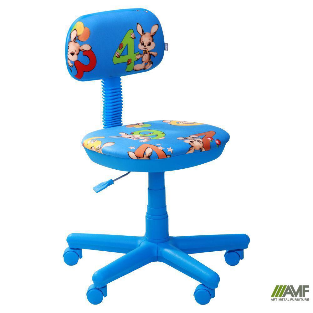 Кресло Свити голубой Зайцы голубые