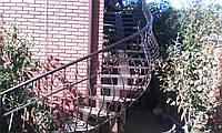 Перила для лестниц с элементами ковки