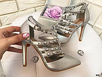 Шикарные туфельки на шпильке