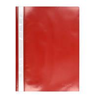 Скоросшиватель пластиковый  А4, папка Delta D1110 красный