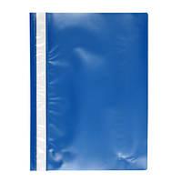 Скоросшиватель пластиковый  А4, папка Delta D1110 синий