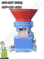 Гранулятор роликовый мощностью 11 кВт, для гранулирования до 300 кг/час
