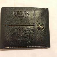 Мужской кошелек черный, фото 1