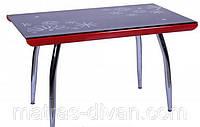 Стол Импреза ROT-60 столешница - гнутое закаленное стекло